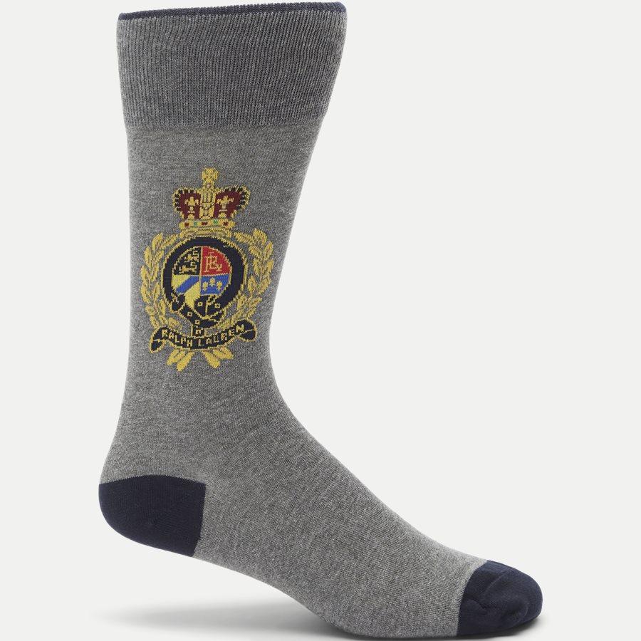 449767210 - Polo Bear Socks - Strømper - GRÅ - 1