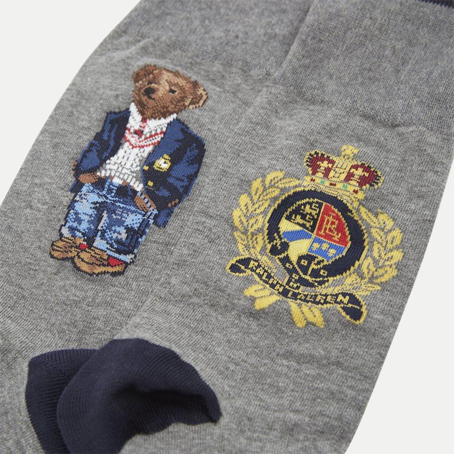 449767210 - Polo Bear Socks - Strømper - GRÅ - 2