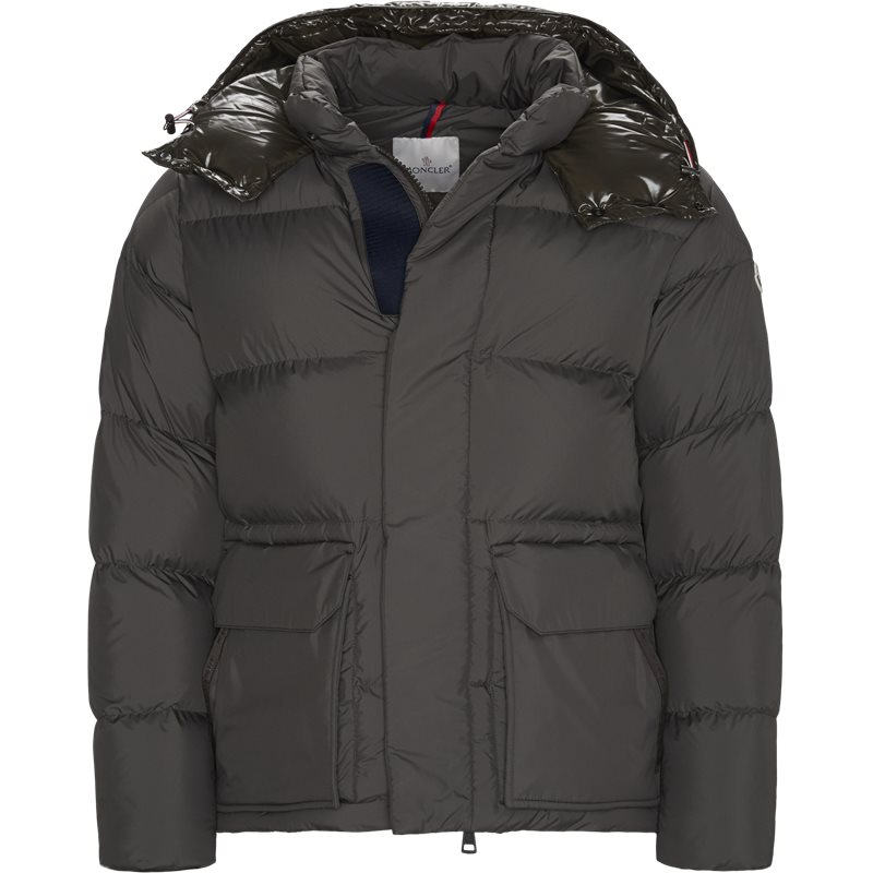 moncler – Moncler regular fit 41337 glacier jakker army/grey fra axel.dk