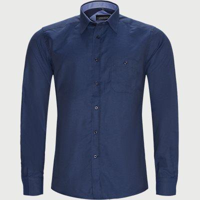 Milton Skjorte Regular | Milton Skjorte | Blå
