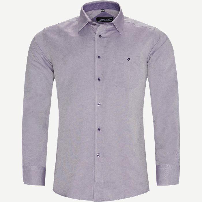Ashton Skjorte - Skjorter - Regular - Lilla