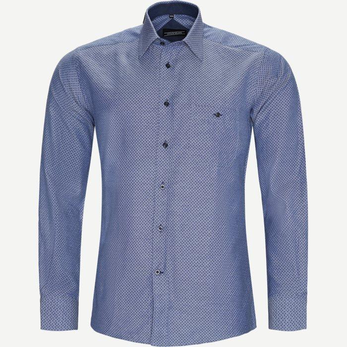 Sutton Skjorte - Skjorter - Regular - Denim