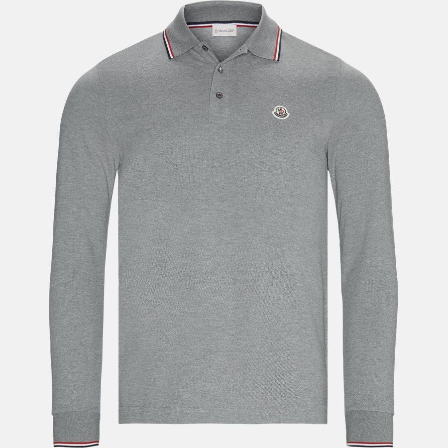 83480 84556 - Polo t-shirt - T-shirts - Regular fit - GREY - 1