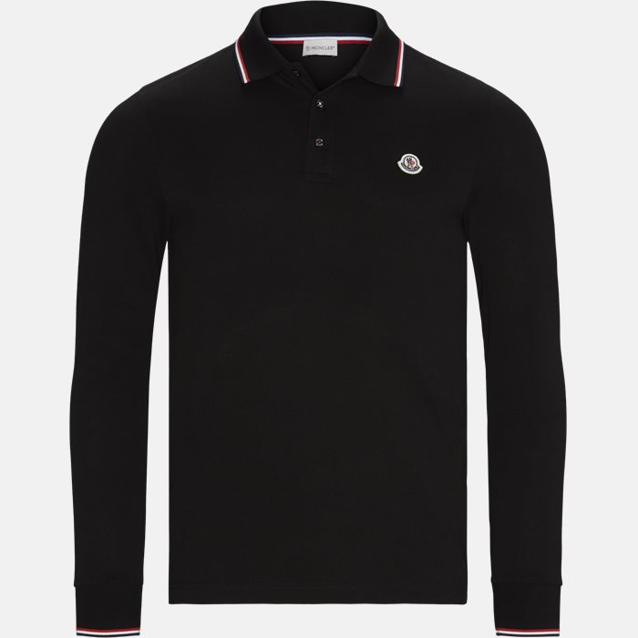 Polo t-shirt - T-shirts - Regular fit - Sort