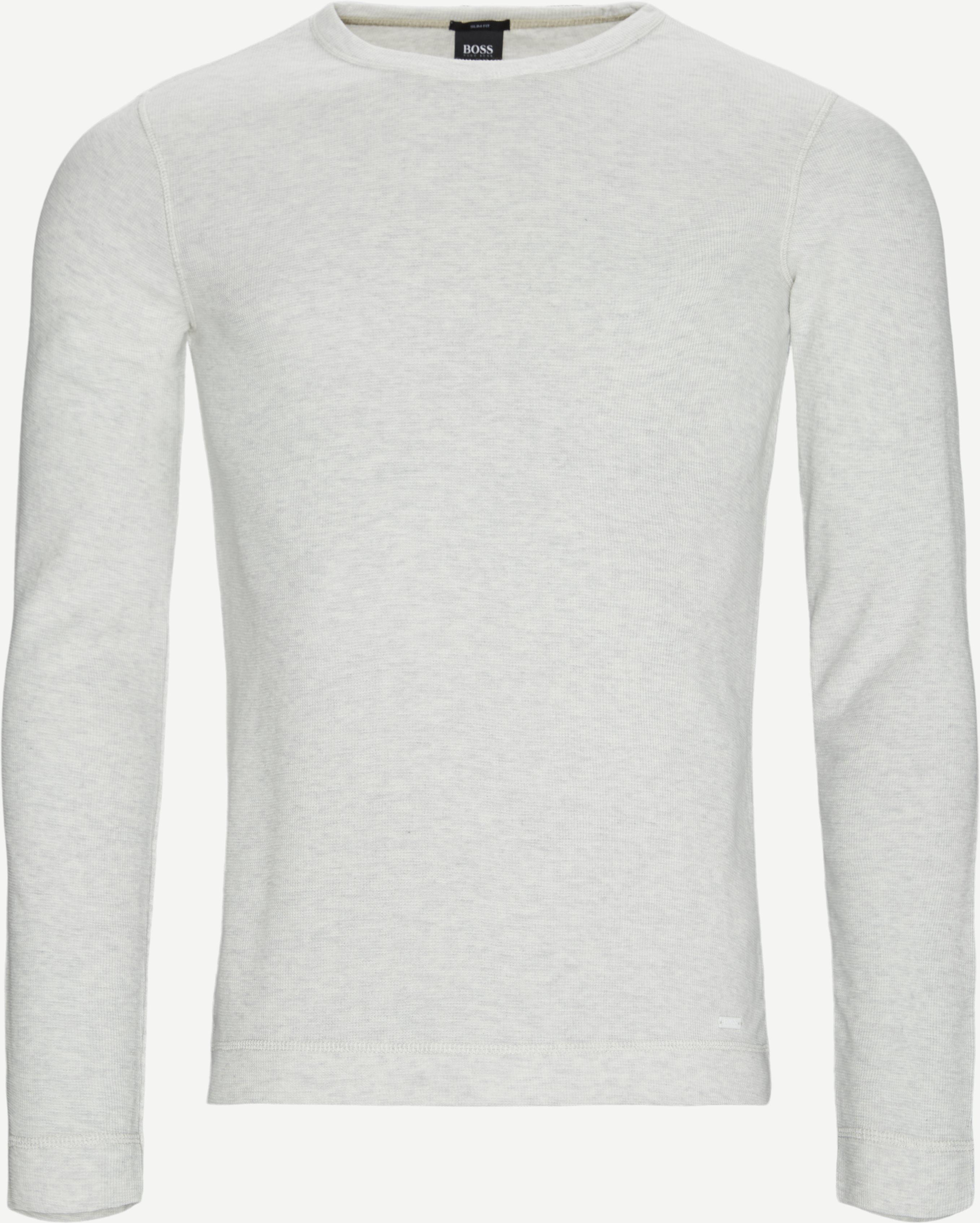 Tempest Langærmet T-shirt - T-shirts - Slim - Sand