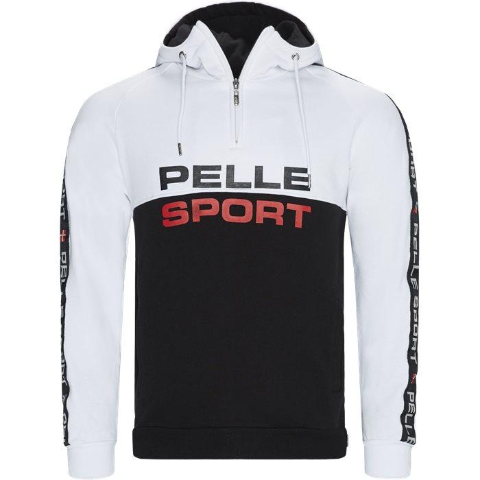 PP2001 Half-Zip Hoodie - Sweatshirts - Regular - Sort