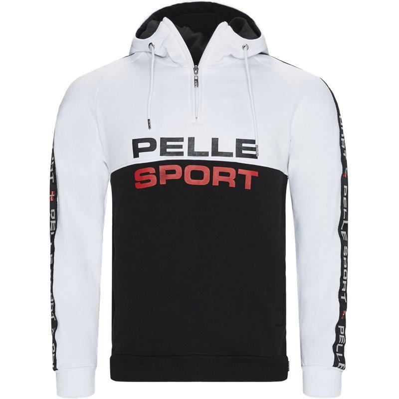 Pellepelle Pp2001 Half-zip Hoodie Sort