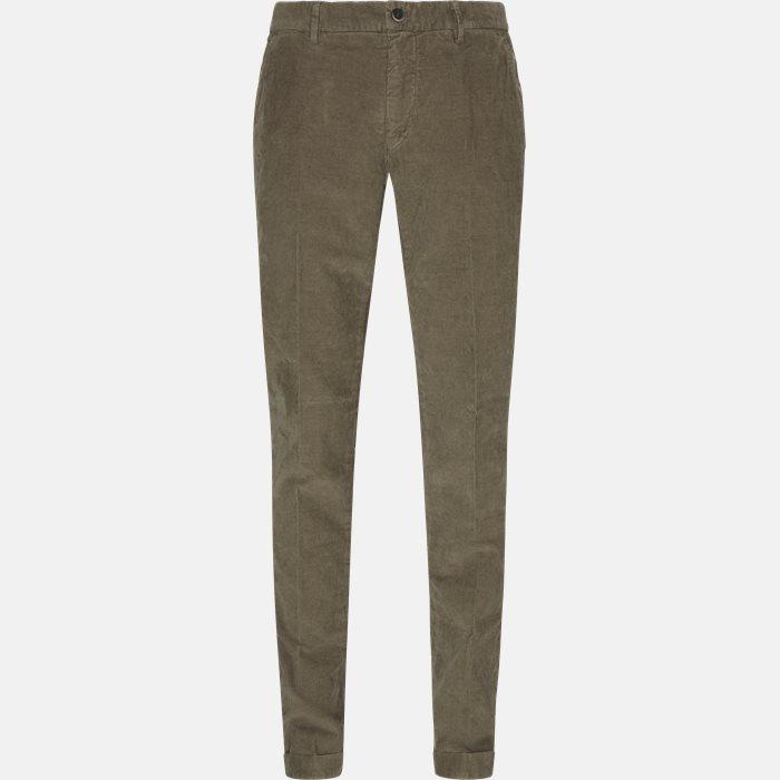 Trousers - Slim - Brown