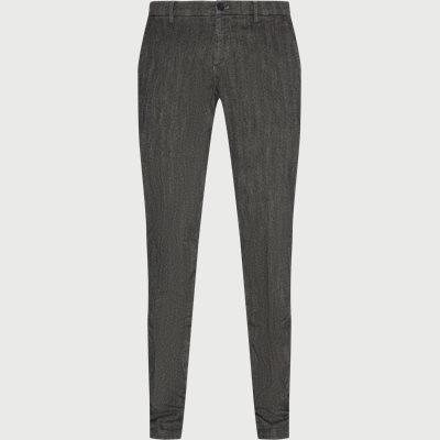 Milano Bukser Slim | Milano Bukser | Grå