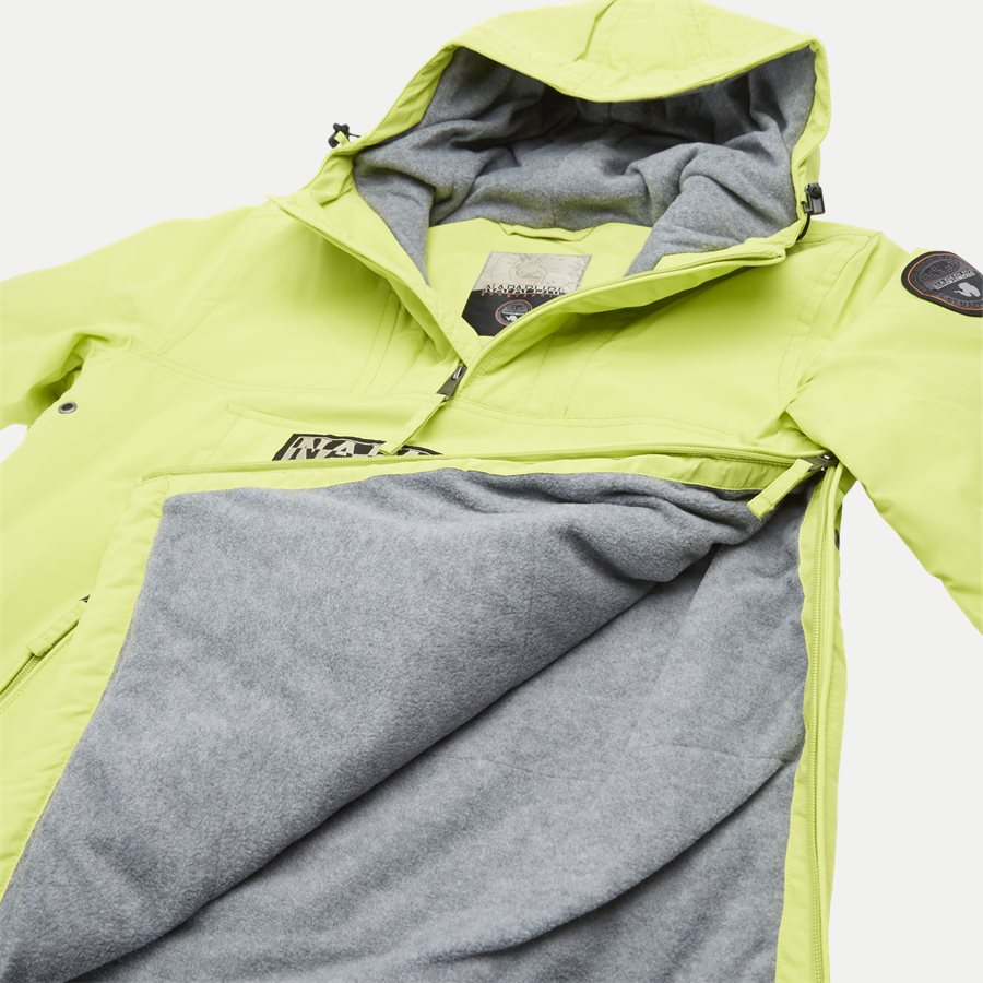 RAINFOREST AW19 - Jackets - Regular - LIME - 9