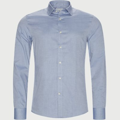 Fridolf Skjorte Slim | Fridolf Skjorte | Blå