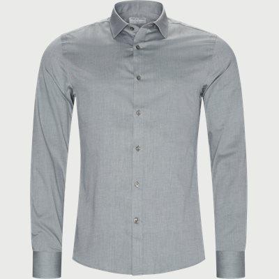 Fridolf Skjorte Slim | Fridolf Skjorte | Grøn