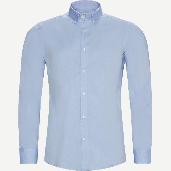 Fenald Skjorte - Skjorter - Slim - Blå