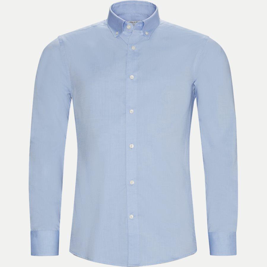 67677 FENALD - Fenald Skjorte - Skjorter - Slim - BLÅ - 1