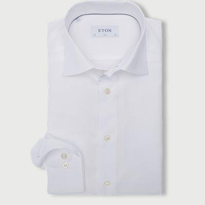 3463 Twill Skjorte 3463 Twill Skjorte | Hvid