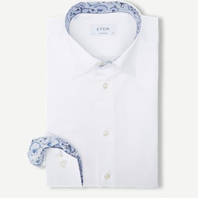 3000 Signature Twill Skjorte 3000 Signature Twill Skjorte | Hvid