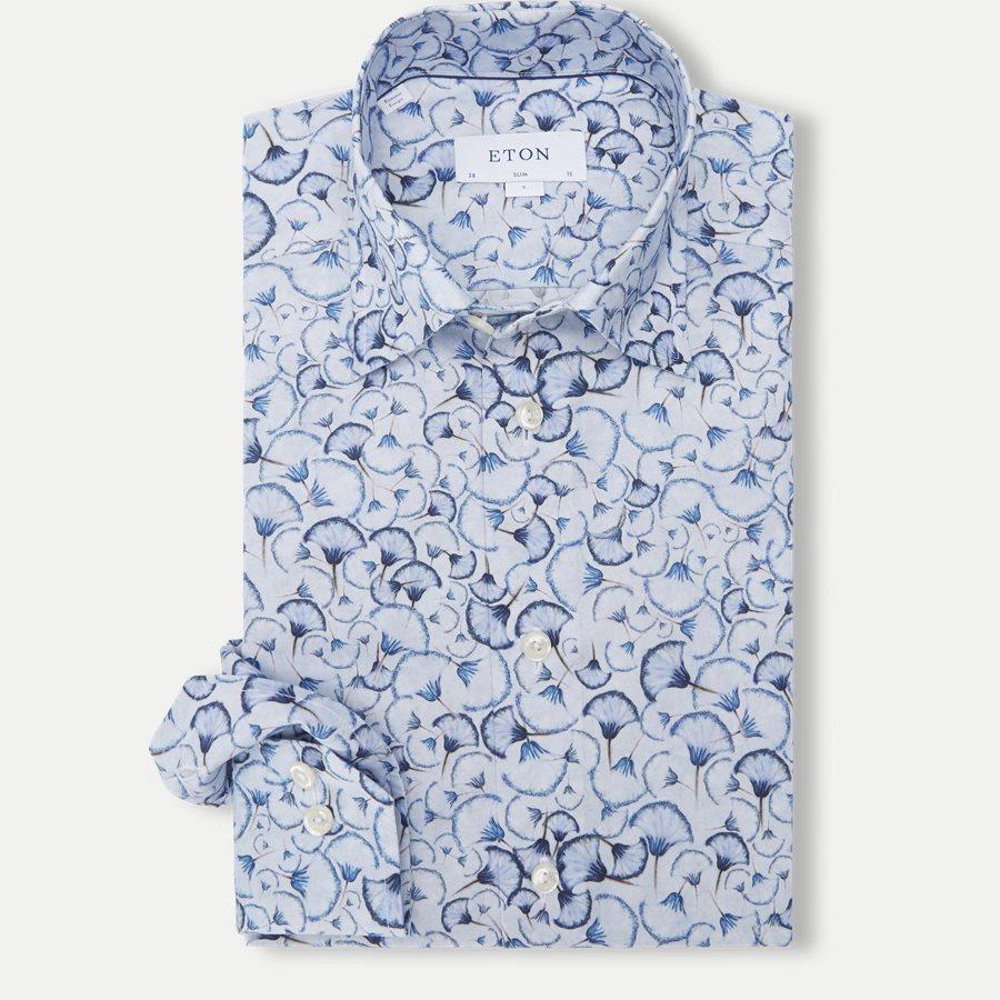 3469 61 - Signature Twill Skjorte - Skjorter - BLÅ - 1