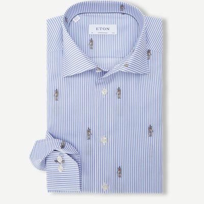 3045 Signature Twill Skjorte 3045 Signature Twill Skjorte | Blå