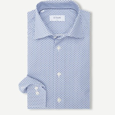 2105 Poplin Skjorte 2105 Poplin Skjorte | Blå
