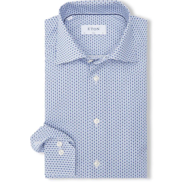 Eton – 2105 Poplin Skjorte