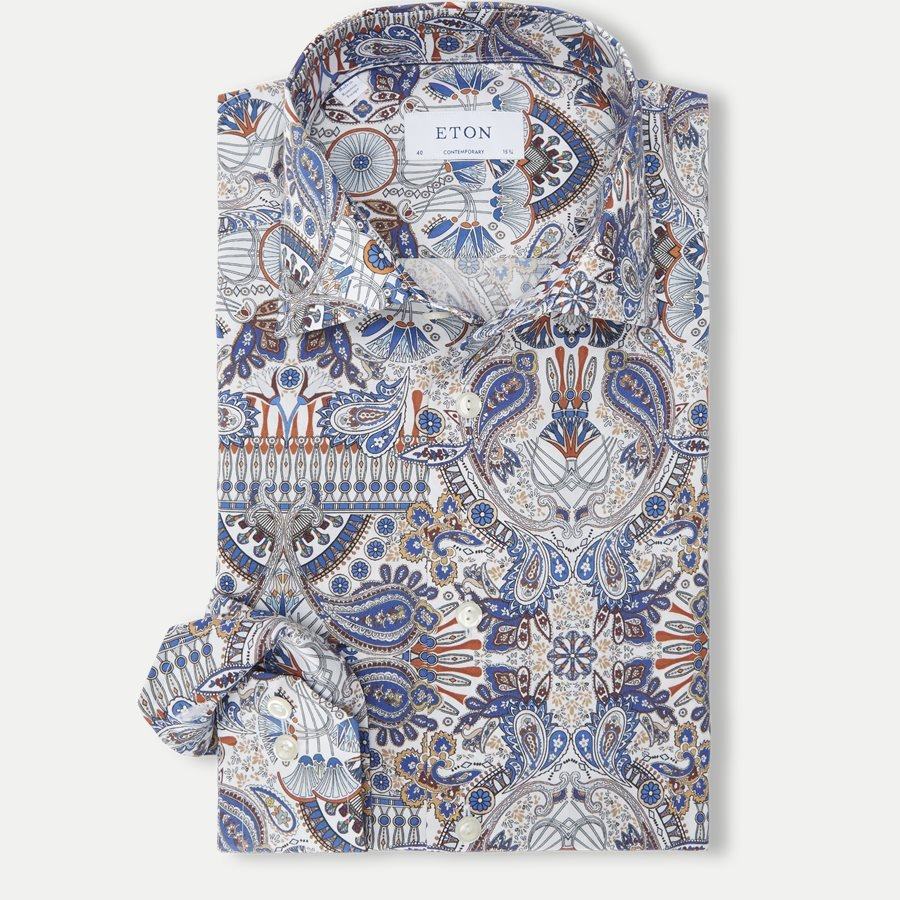 3068 79 - 3068 Signature Twill Skjorte - Skjorter - BLÅ - 1
