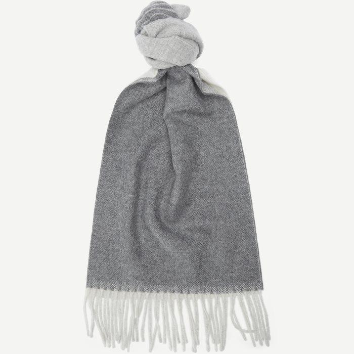 Halstørklæde - Tørklæder - Grå