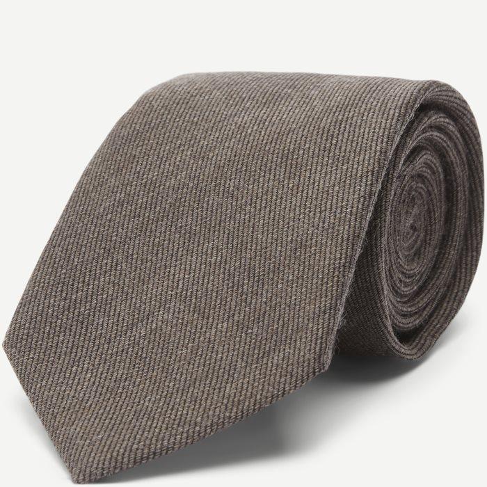 Slips 8 cm. - Slips - Brun