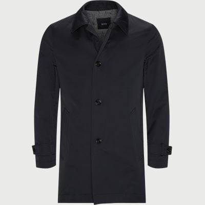 Dain Overcoat Regular | Dain Overcoat | Blå