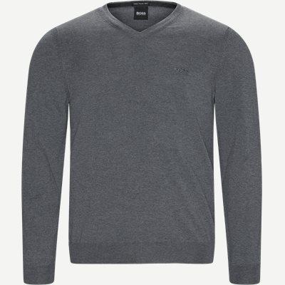 Baram-L Striktrøje Regular | Baram-L Striktrøje | Grå