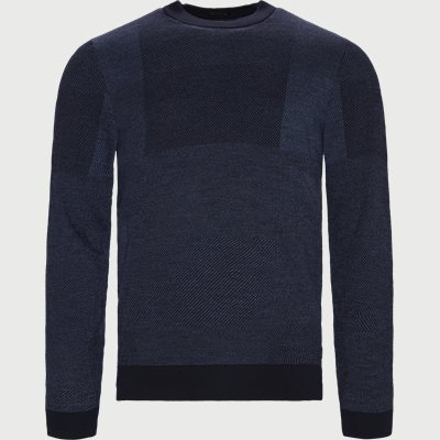 Bilivo Sweater Regular | Bilivo Sweater | Blå