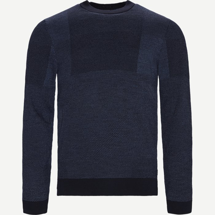 Bilivo Sweater - Strik - Regular - Blå