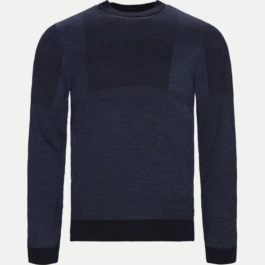 50415793 BILIVO - Bilivo Sweater - Strik - Regular - NAVY - 1