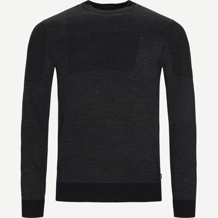 Bilivo Sweater - Strik - Regular - Sort