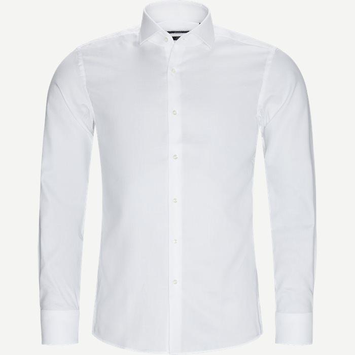 Jason - Skjorter - Slim - Hvid
