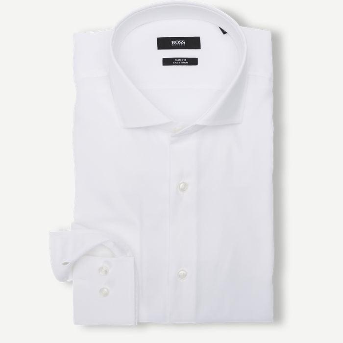 Jason Skjorte - Skjorter - Slim - Hvid
