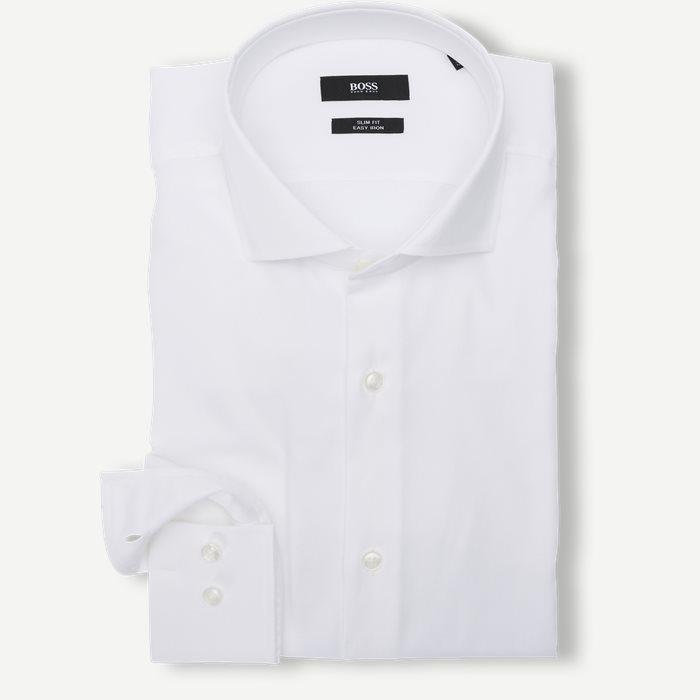 Skjortor - Slim - Vit