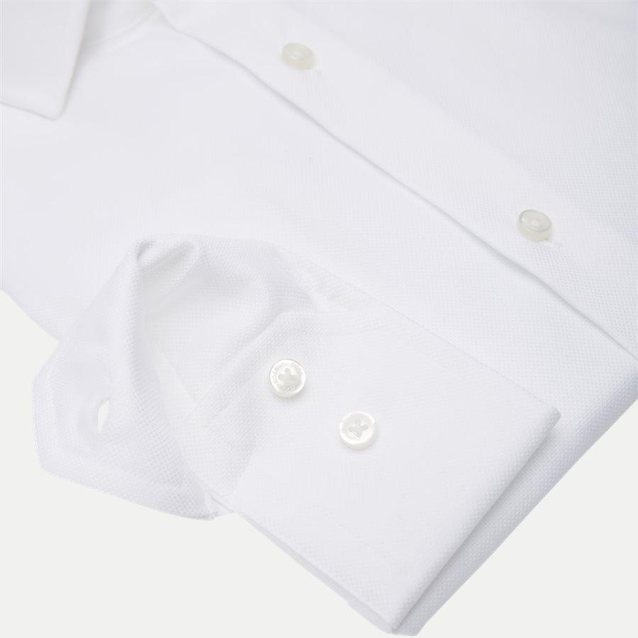 50415630 GORDON - Gordon Skjorte - Skjorter - Regular - HVID - 4
