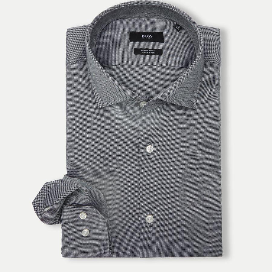 50415630 GORDON - Gordon Skjorte - Skjorter - Regular - SORT - 1