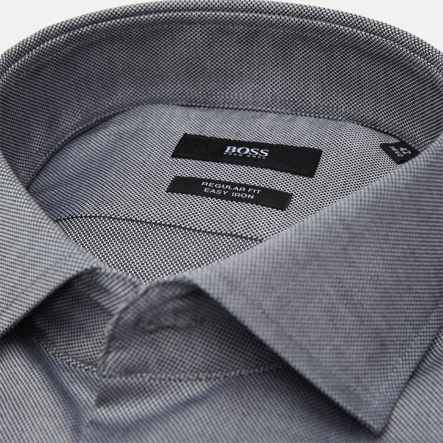 50415630 GORDON - Gordon Skjorte - Skjorter - Regular - SORT - 2
