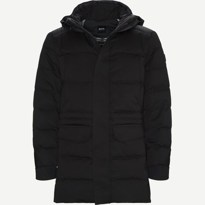 Jeer4 Down Jacket - Jakker - Regular - Sort