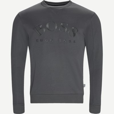 Salbo Crew Neck Sweatshirt Regular | Salbo Crew Neck Sweatshirt | Grå