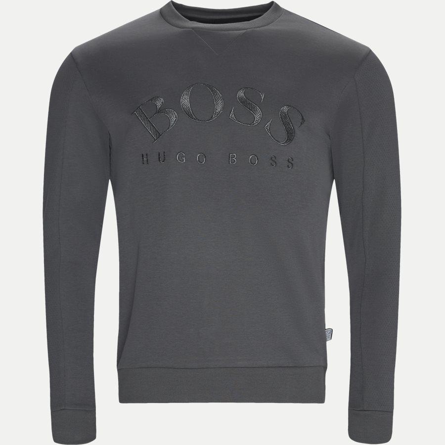 50410278 SALBO - Salbo Crew Neck Sweatshirt - Sweatshirts - Regular - GRÅ - 1
