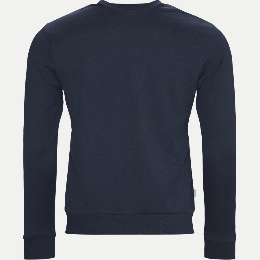 50410278 SALBO - Salbo Crew Neck Sweatshirt - Sweatshirts - Regular - NAVY/SØLV - 2