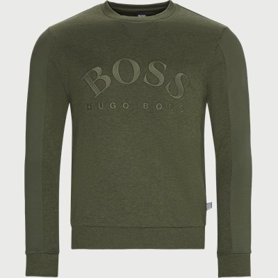 Salbo Crew Neck Sweatshirt Regular | Salbo Crew Neck Sweatshirt | Army