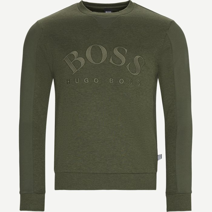 Salbo Crew Neck Sweatshirt - Sweatshirts - Regular - Army