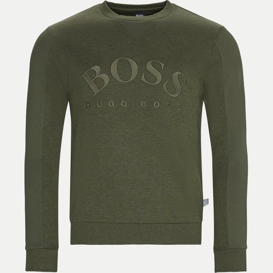 50410278 SALBO - Salbo Crew Neck Sweatshirt - Sweatshirts - Regular - OLIVEN - 1