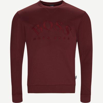 Salbo Crew Neck Sweatshirt Regular | Salbo Crew Neck Sweatshirt | Rød