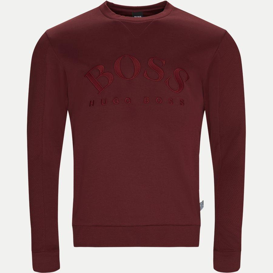 50410278 SALBO - Salbo Crew Neck Sweatshirt - Sweatshirts - Regular - RØD - 1