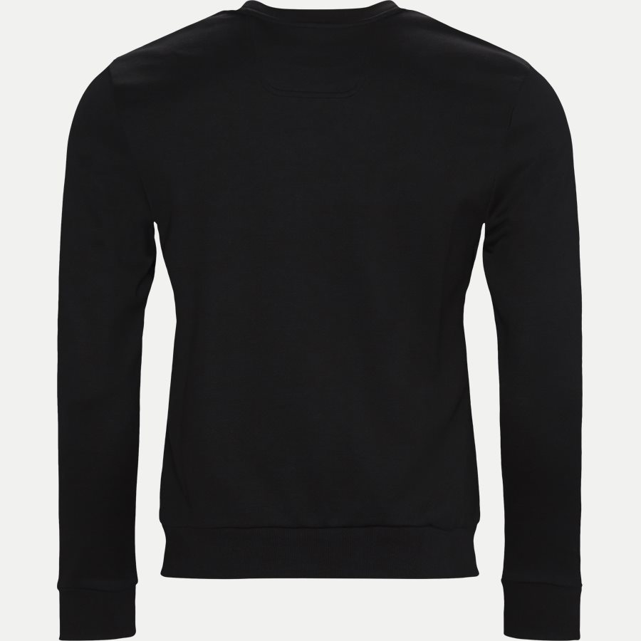 50410278 SALBO - Salbo Crew Neck Sweatshirt - Sweatshirts - Regular - SORT/GULD - 2