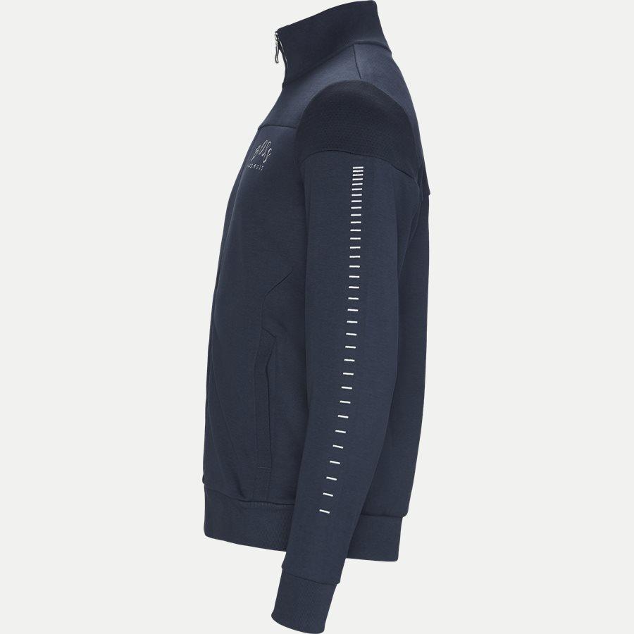 50418945 SKAZ WIN - Skaz Win Full Zip Sweatshirt - Sweatshirts - Regular - NAVY/SØLV - 3
